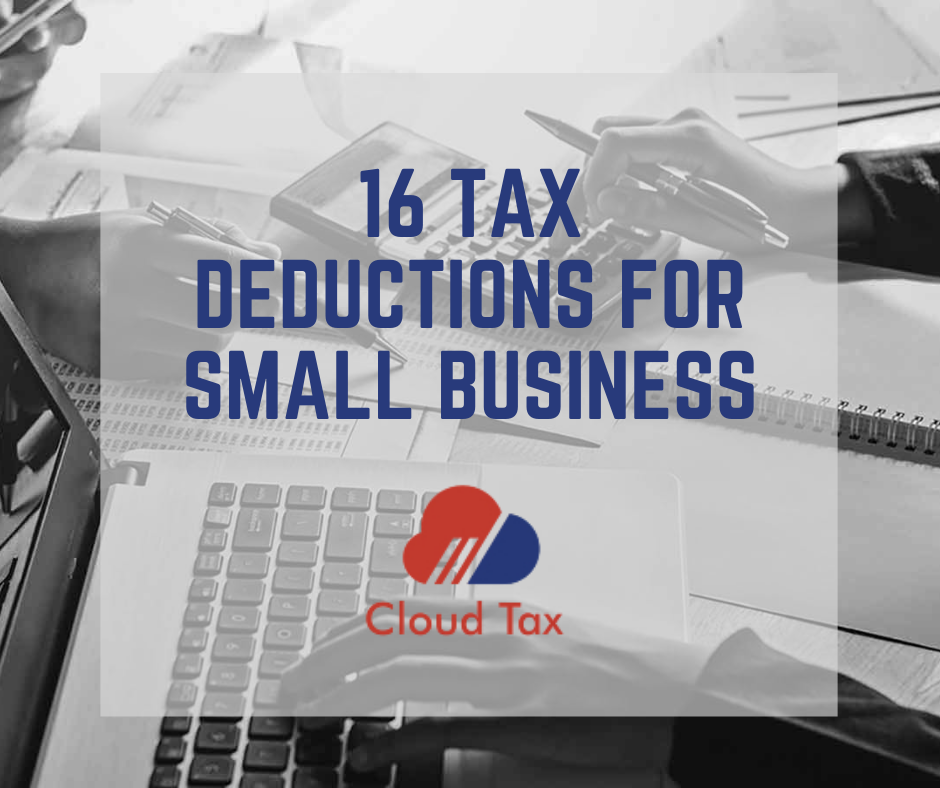 16 Tax Deductions For Small Business