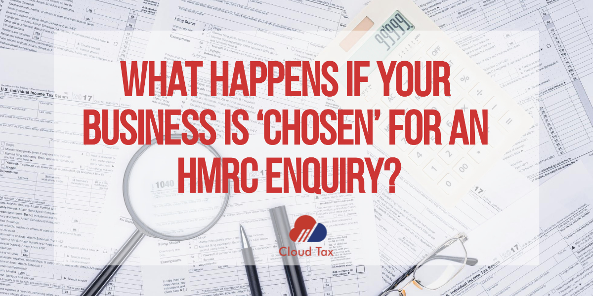 What happens if your business is 'chosen' for an HMRC enquiry-