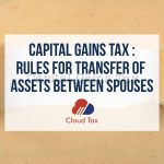 Capital Gains Tax - Rules for transfer of assets between spouses